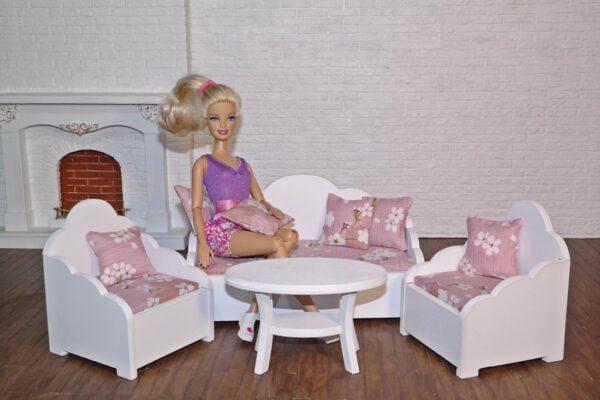 Zestaw wypoczynkowy NICOLA z lalką