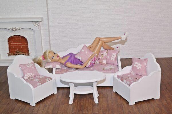 Zestaw wypoczynkowy NICOLA z lalką 4