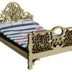 Łóżko drewniane dla lalek JESSICA Natural 4