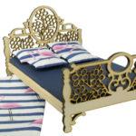 Łóżko drewniane dla lalek JESSICA Natural 2