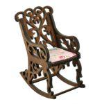 Fotel bujany dla lalek Kasztan 2
