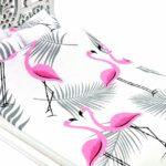 Łóżko Jessica Białe Różowy flaming 2