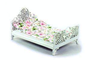 Łóżko Zielone motyle i kwiaty 1