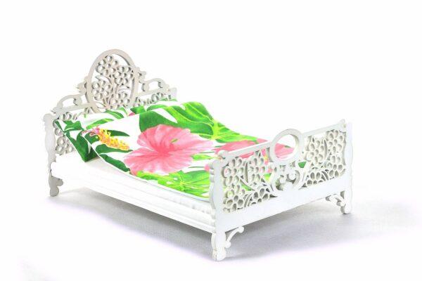 Łóżko Jessica Białe 1