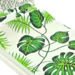 Łóżko zielone liście 2