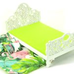 Łóżko zielone liście iflaming 2
