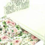Łóżko Zielone motyle ikwiaty 3