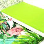 Łóżko zielone liście iflaming 3