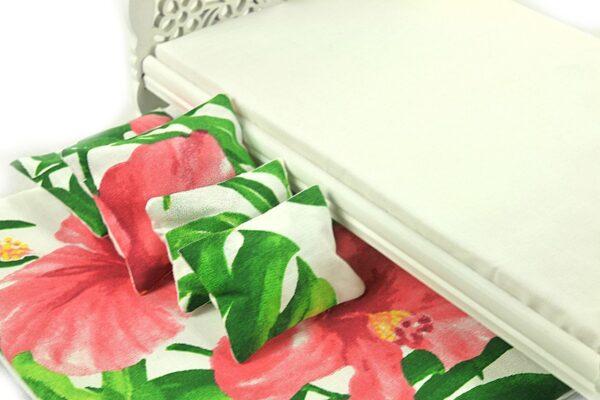 Łóżko Jessica Białe 3