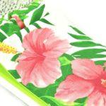 Łóżko liście ikwiaty 4