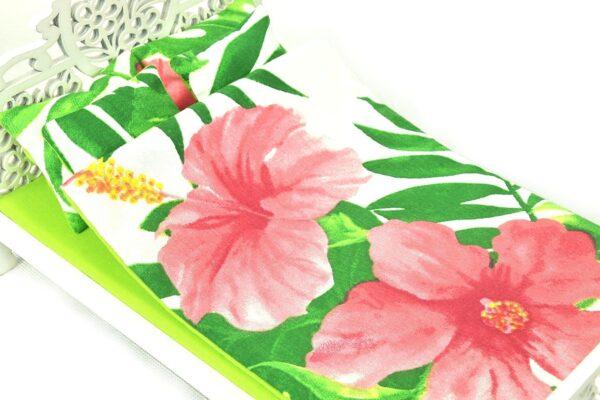 Łóżko liście i kwiaty 4