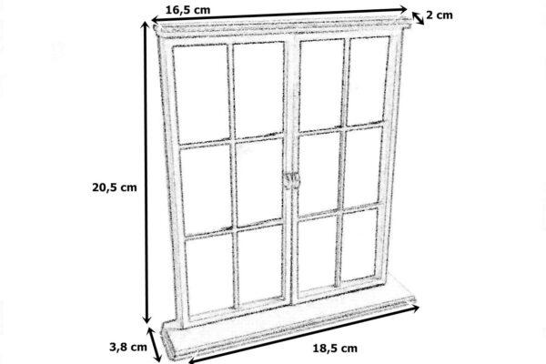 Okno 3x wymiary