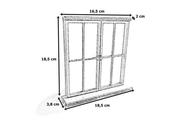 Okno 2x wymiary