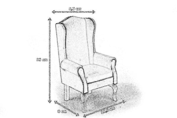 Wymiary fotel uszak