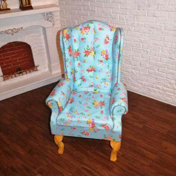 Fotel BLUE MINI FLOWER 1