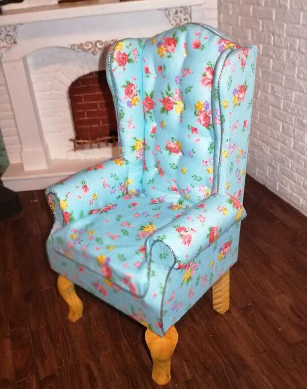 Fotel BLUE MINI FLOWER 2