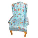 Fotel BLUE MINI FLOWER 4