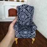 Fotel NAVY BLUE 4
