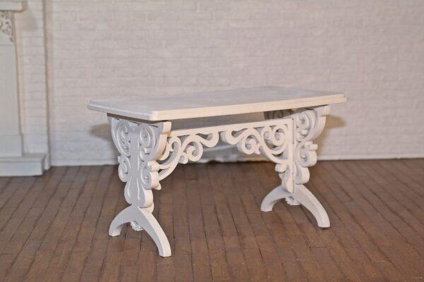 Stół prostokątny z krzesłami 1