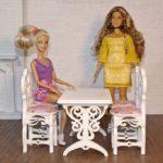Stół prostokątny zkrzesłami 4