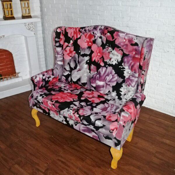 Sofa BIG FLOWER DARK 2