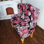 Sofa BIG FLOWER DARK 3