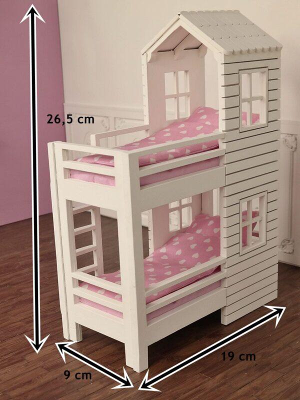 Łóżko piętrowe House 3